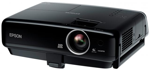Первый HD-проектор Epson MG-850HD c док-станцией для iPhone, iPod и iPad!