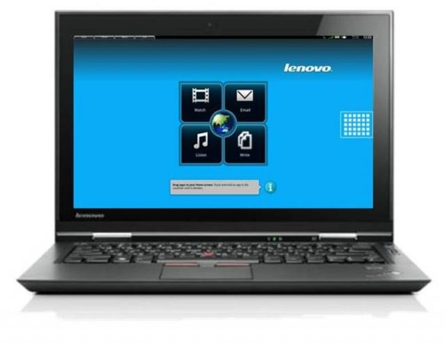 Lenovo ThinkPad Hybrid X1: один ноутбук - 2 процессора, 2 ОС.
