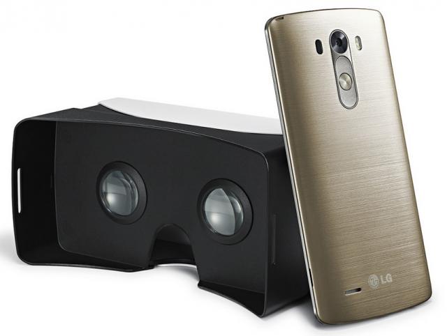 Устройство виртуальной реальности для LG G3