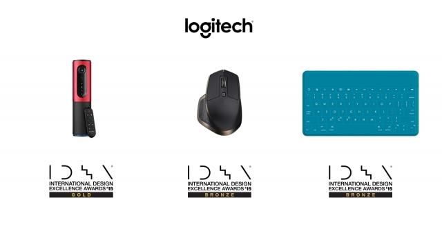 Logitech удостоен трех наград IDEA