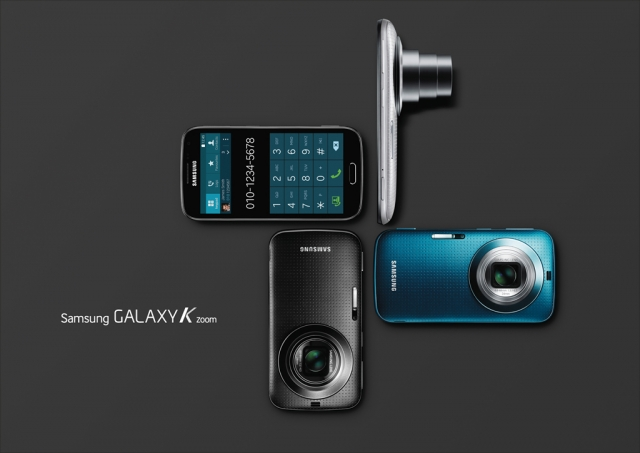 Фотосмартфон Samsung GALAXY K Zoom: подробные характеристики