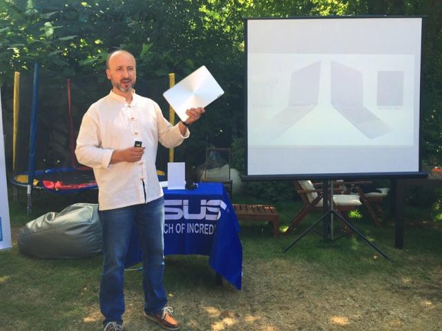 В Киеве прошла презентация новых ноутбуков ASUS