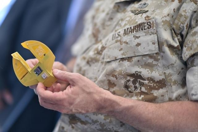 Мини-дрон ВМС США, напичканный сенсорами