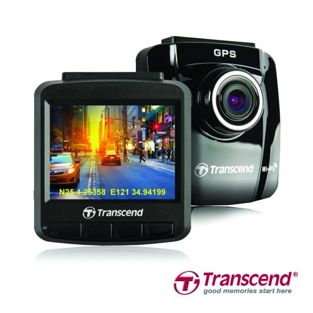 Видеорегистратор Transcend DrivePro 220 с GPS и Wi-Fi