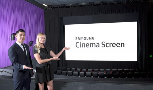 Новая технология для «кинотеатров будущего» от Samsung