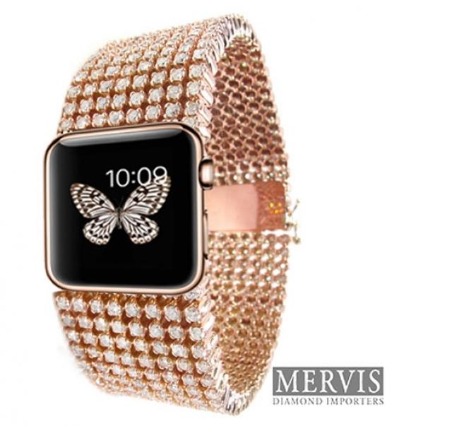 Apple Watch из эксклюзивных материалов обойдется в 30 тыс. долларов США