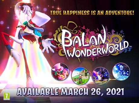 Balan Wonderworld: цікава пригода дарує справжнє щастя!