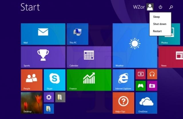 Первое крупное обновление Windows 8.1 попало в сеть