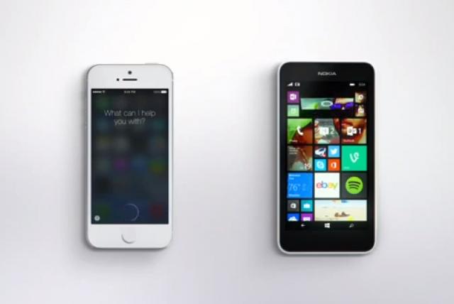 Microsoft натравила Cortana на Siri в новом видео