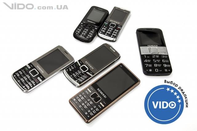 Обзор линейки телефонов Keneksi: выбор есть всегда