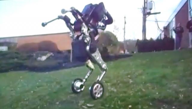 Відео презентації нового робота Boston Dynamics