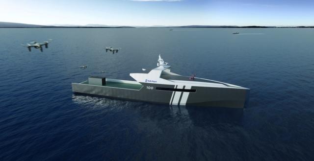 Rolls-Royce створить безпілотний військовий корабель