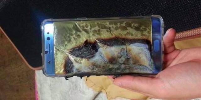 Samsung розкрила причини численних вибухів акумуляторів Galaxy Note 7