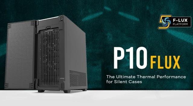 НОВИНКА: Унікальна платформа F-LUX у поєднанні із шумоізоляцією – корпус ANTEC P10 FLUX