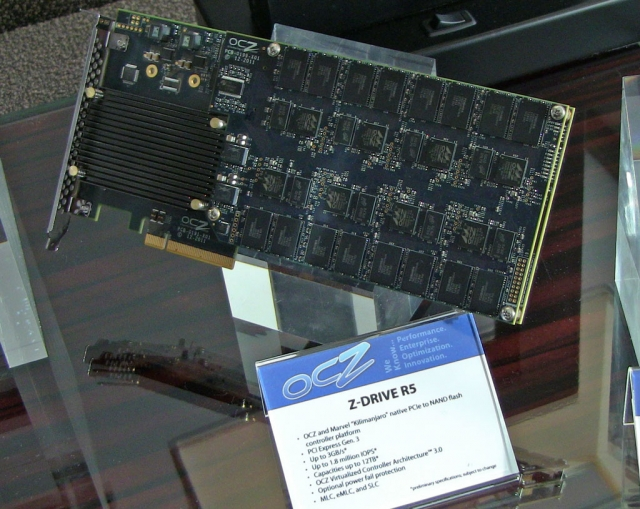 OCZ на CES 2012: Z-Drive R5, Kilimanjaro, Everest 2 и прототип внешнего Thunderbolt SSD - Lightfoot
