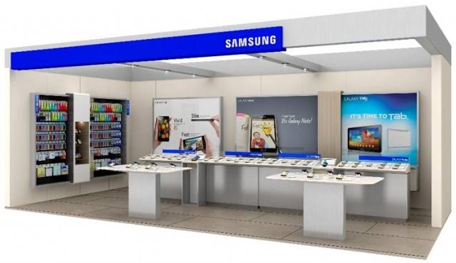 Shop-In-Shop Samsung в Украине