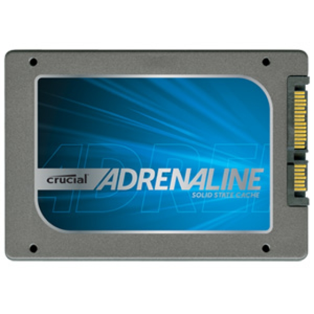 Crucial  Adrenaline позволяет увеличить быстродействие HDD до 8 раз