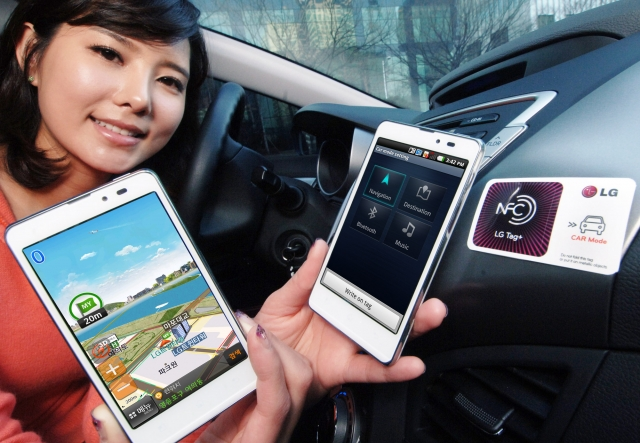 LG Optimus LTE Tag знакомит с возможностями NFC