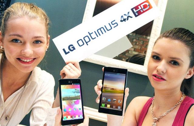 LG анонсировала смартфон Optimus 4X HD на Тegra 3 с Android 4.0