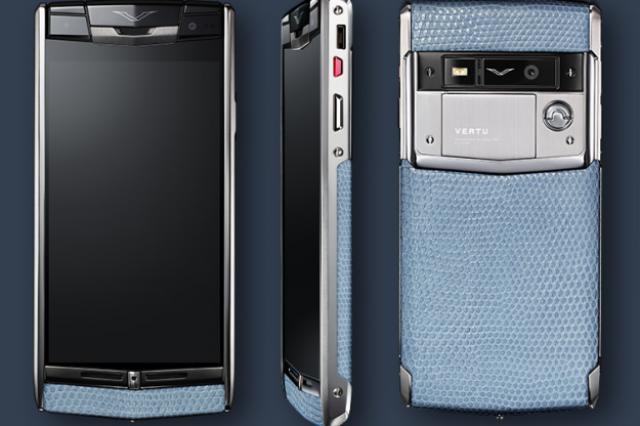 Новый смартфон от Vertu обойдется в $14 тыс.