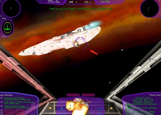 Игры серии Star Wars X-Wing перевыпущены на ПК