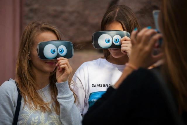 Мир виртуальной реальности в День независимости Украины