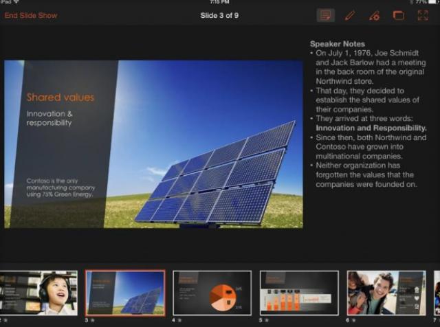 Microsoft обновила Office для iPad, добавив несколько очень полезных функций