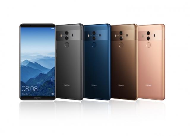 Huawei виводить на український ринок смартфони серії Huawei Mate 10