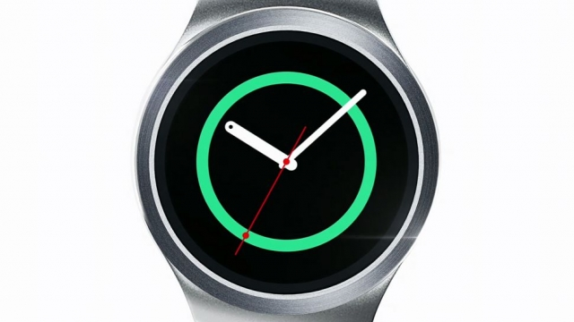 Samsung показал круглые часы Gear S2
