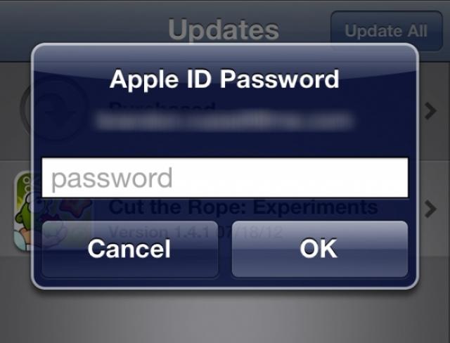 Кража идентификатора Apple ID. Что делать?
