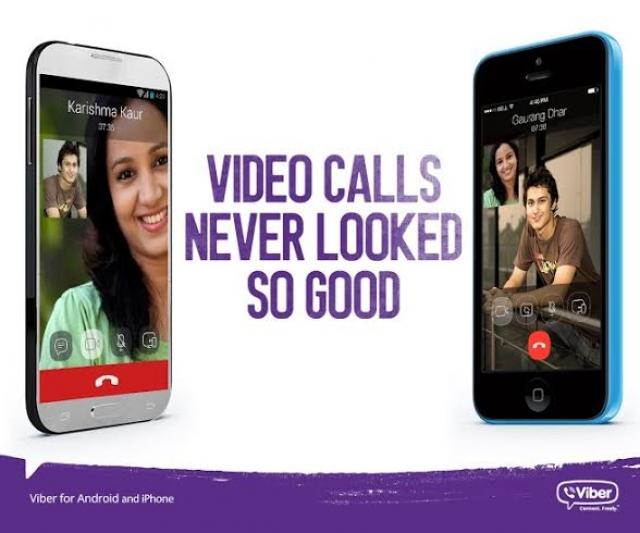 Теперь видеозвонки в Viber доступны для Android и iOS