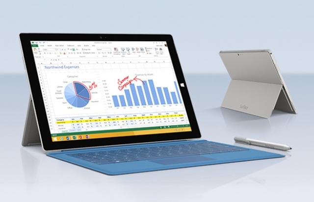 Microsoft доказала, что Surface Pro 3 заменит любой ноутбук