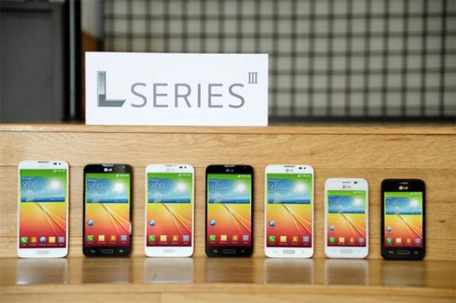 LG представит третье поколение смартфонов L-серии