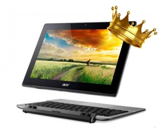 Acer возглавляет быстрорастущий рынок ноутбуков-трансформеров формата 2-в-1