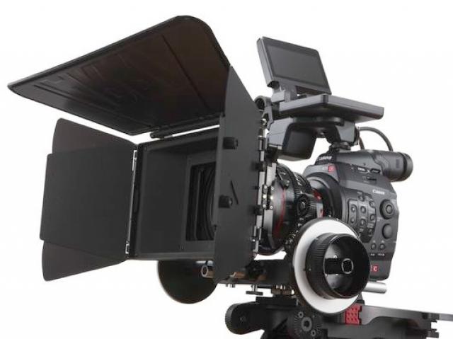 Canon EOS C300 получает признание профессионального телевещания