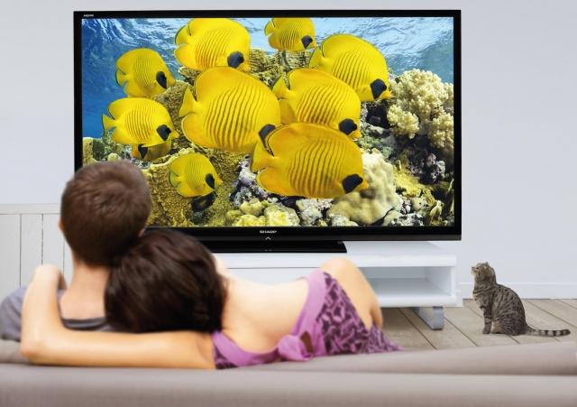 Телевизор-гигант от Sharp