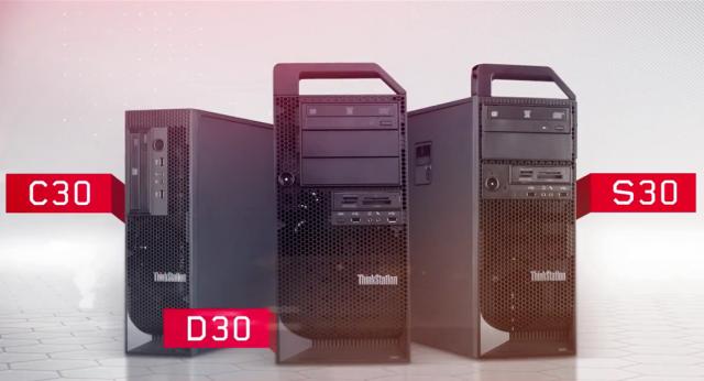 Lenovo представила новые рабочие станции ThinkStation серии 30