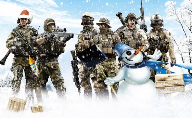 Рождество приходит в Battlefield 4