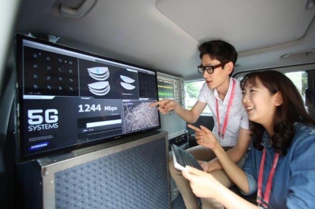 Samsung установил рекорд скорости в 7,5 Гбит/с в сетях 5G