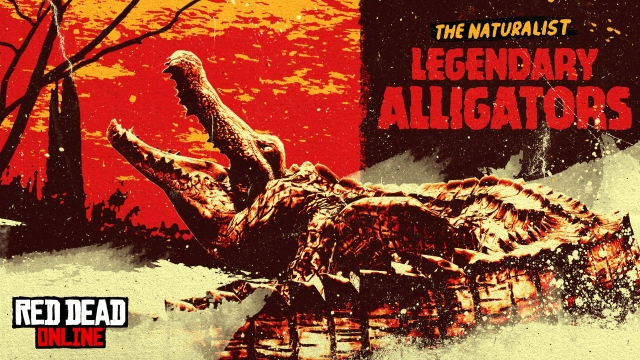 Нові легендарні тварини в Red Dead Online: Teca та Sun Gators