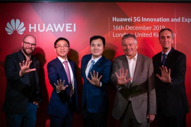 Huawei відкрив інноваційний центр 5G у Лондоні