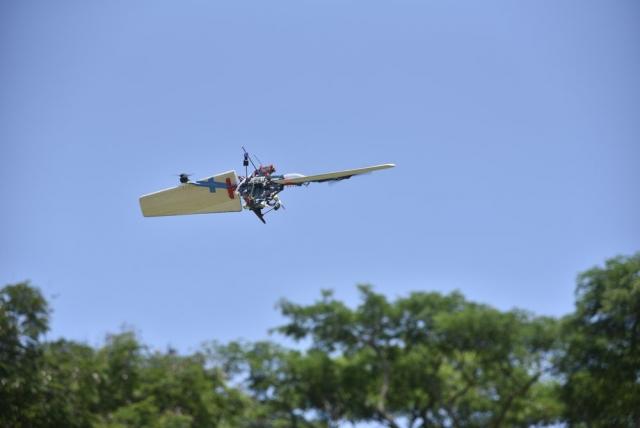 Унікальний дрон-трансформер створили у Сінгапурі