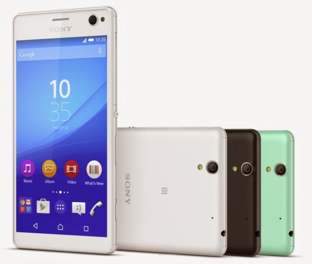 Sony анонсирует смартфон Xperia C4, новейший селфифон компании