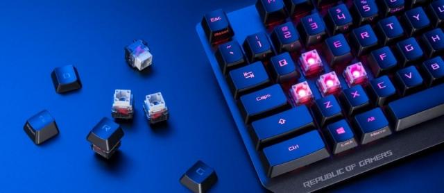 Ігрова клавіатура ASUS ROG Strix Scope RX вже скоро в Україні!