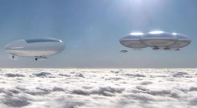 НАСА планирует исследовать Венеру в пилотируемых солнечных дирижаблях