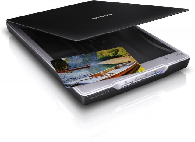 Новый ультракомпактный сканер Epson Perfection V19
