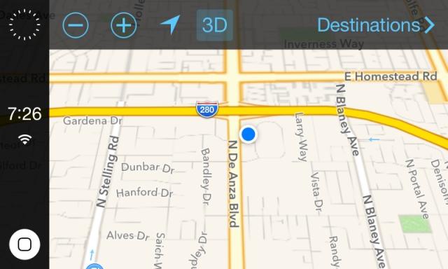 Видео: первый взгляд на iOS как часть навигационной системы вашего автомобиля