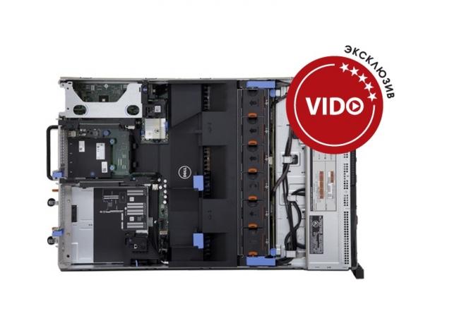 Dell PowerEdge R720. Двухсокетный сервер с процессорами Intel Xeon E5 в 2U корпусе