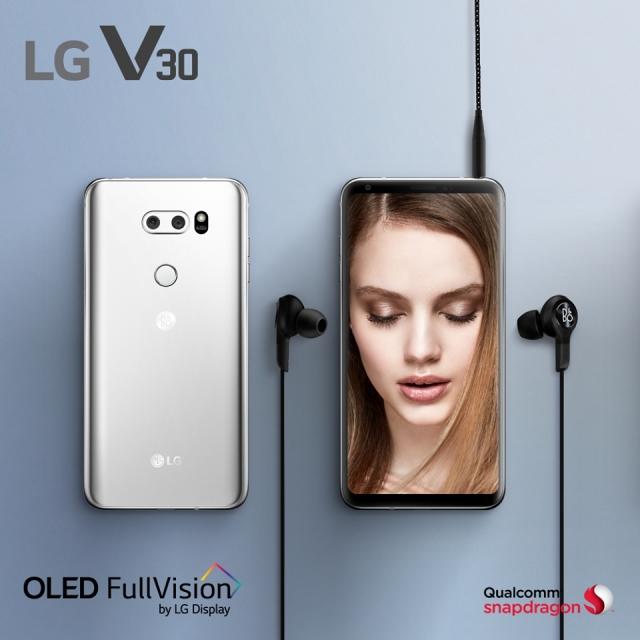 Старт продажів флагманського смартфона LG v30+