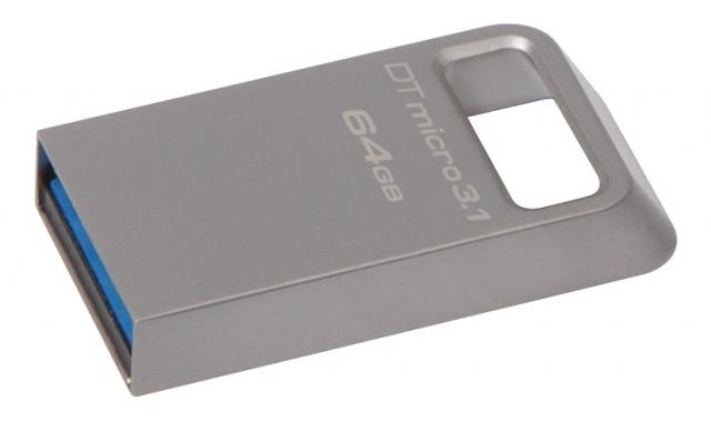DataTraveler Micro 3.1 - миниатюрный USB-накопитель